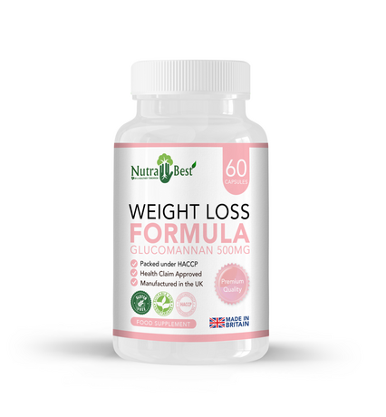 Glucomannan 500 mg - Weight Loss Formula
